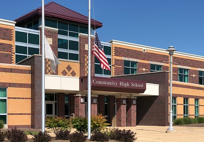 Marengo Community High School, CHSD 154 is photographed on Thursday, Aug. 6, 2020 in Marengo.