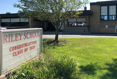 Riley School, CCSD 18 is photographed on Thursday, Aug. 6, 2020 in Marengo.