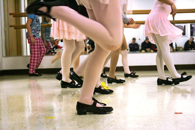 Monica Maschak - mmaschak@shawmedia.com Girls ages 6-8 participate in a weekly Ballet and Tap II class at the McHenry Municipal Building on Thursdays. A study from Vanderbilt University found that children are more likely to be active when they have friends who are active. So even activity levels are contagious among kids.