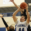 Jeff Krage -- For the Kane County Chronicle<br /> Geneva's Connor Chapman goes up for a shot during Friday's game against visiting Streamwood.<br /> Geneva 12/14/12
