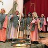 "Jeff Krage -- For the Kane County Chronicle<br /> Bethany Lutheran Sunday School students perform ""Shepherds, Sheep, and a Savior"" inside the gymnasium on Sunday.<br /> Batavia 12/16/12"