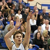 Jeff Krage -- For the Kane County Chronicle<br /> Geneva's Mike Trimble shoots a three during Friday's game against visiting Streamwood.<br /> Geneva 12/14/12