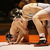 Rob Winner – rwinner@shawmedia.com<br /> <br /> Kaneland's Dan Goress (right) competes against DeKalb's Dylan Farrell during their 145-pound match in DeKalb, Ill., Thursday, Dec. 6, 2012. DeKalb defeated Kaneland, 50-23.
