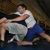 Jeff Krage — For the Kane County Chronicle<br /> Geneva senior 195-pound wrestler Jake Boser during Monday's practice.<br /> Geneva 12/17/12