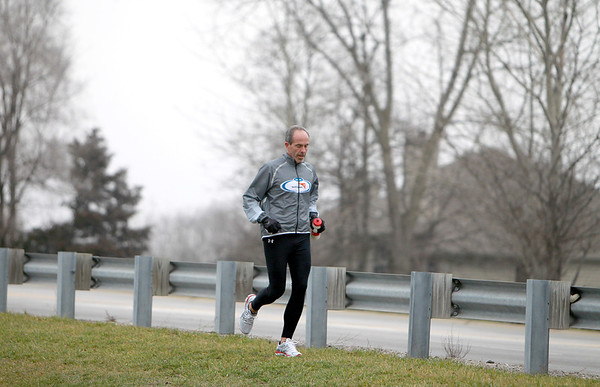 St. Charles resident Steve Spear is training to run 3,200 miles from Los Angeles to New York to raise money for World Vision, which provides safe drinking water in Africa. Spear will begin his run April 1.