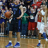 St. Francis' Jason Pisarski (3) is called for a 10 second back court violation with seconds remaing in in the game against Aurora Central at Aurora Central in Aurora, IL on Saturday, December 22, 2012 (Sean King for The Kane County Chronicle)
