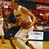 St. Charles East senior guard Kendall Stephens (21) looks for a lane to drive during a first round game against Von Steuben in the Proviso West Holiday Tournament in Hillside on Wednesday, Dec. 26, 2012. Matthew Piechalak — mpiechalak@shawmedia.com