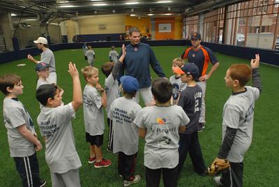 Baseball camp at Bounce Sports