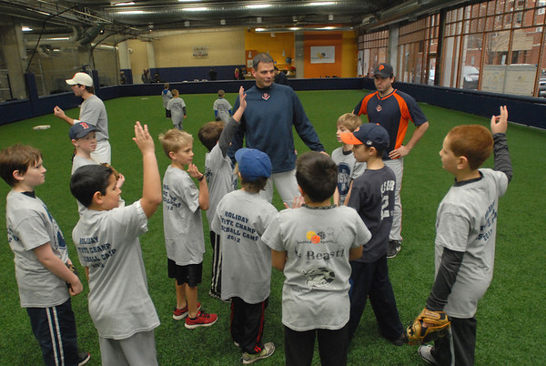 Baseball camp at Bounce Sports