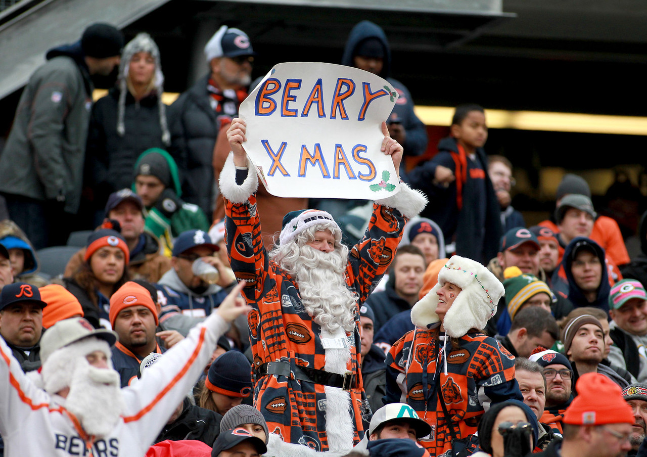 The Chicago Bears lose to the Green Bay Packers 21-13 at Soldier Field Sunday.(Sandy Bressner photo)