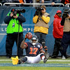 Bears wide receiver Alshon Jeffery is called for offensive pass interference in the second half of their 21-13 loss to the Green Bay Packers at Soldier Field Sunday.