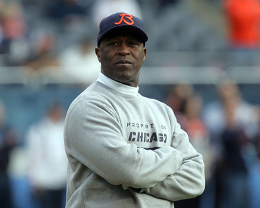 H. Rick Bamman - hbamman@shawmedia.com Bears' head coach Lovie Smith.