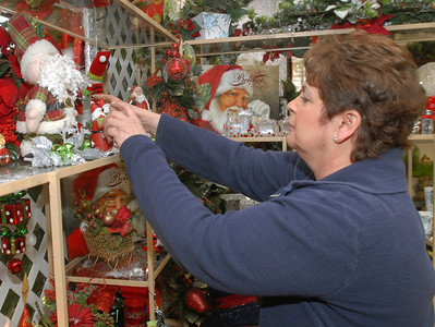 Christmas at Violet Flower Shop