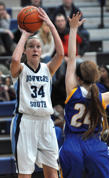 Downers Grove south girls basketball