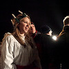 Sydney Nelson, 16 plays the role of Santa Lucia during the annual Geneva Christmas Walk Friday night.(Sandy Bressner photo)