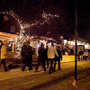 The annual Geneva Christmas Walk began Friday night with a visit from Santa Claus and the lighting of the village's Christmas tree. (Sandy Bressner photo)
