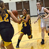 Harvard Girls Lose 43-24 to Woodstock North :