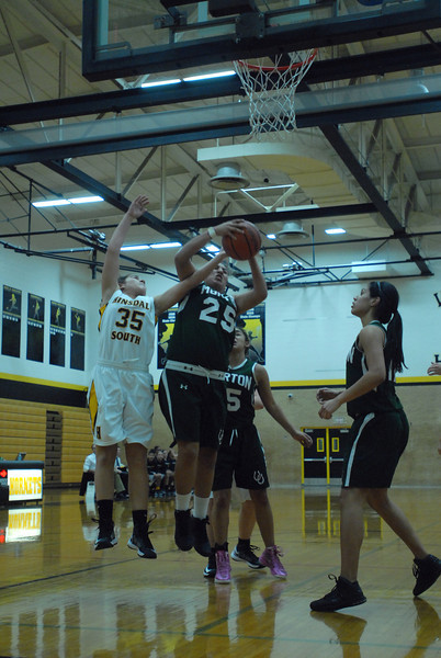 Hinsdale South vs. Morton, girls basketball