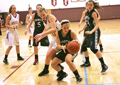 Monica Maschak - mmaschak@shawmedia.com Woodstock North's Brittany Zieman grabs the ball after missed shot at the hoop in the final game of the Northern Illinois Holiday Classic on Saturday, December 15, 2012. Woodstock North beat Richmond-Burton 54-46.