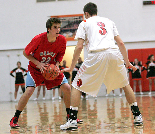 McHenry defeats Marian Central 71-48