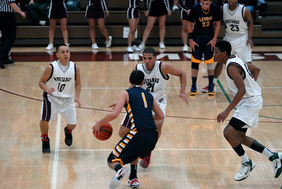 Morton defenders converge on Leyden senior guard Omar Lozoya in the second quarter during a game at Morton on Friday, Jan. 4, 2013. Matthew Piechalak— mpiechalak@shawmedia.com.