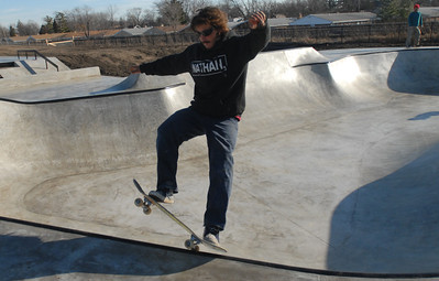 New skatepark at Iowa Center
