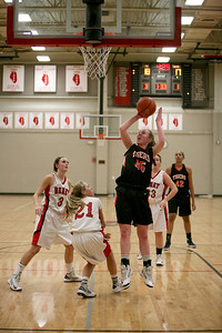 Meghan Waldron of Wheaton Warrenville South goes up for a shot during their game against Benet on Thursday, Dec. 13. Sarah Minor — sminor@shawmedia.com