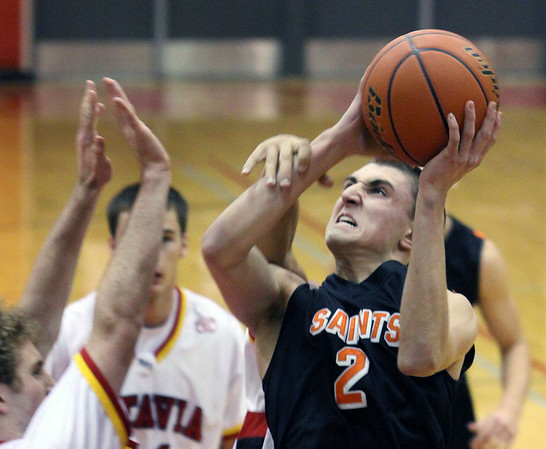 St. Charles East's Dom Adduci takes a shot during Saturday's game at Batavia High School. (Jeff Krage photo for the Kane County Chronicle)