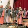 "Bethany Lutheran Sunday School students perform ""Shepherds, Sheep, and a Savior"" inside the gymnasium on Sunday. (Jeff Krage photo for the Kane County Chronicle)"