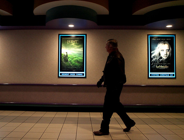 The Hobbit, one of this year's much anticipated movies, opened today at Charlestowne 18 movie theater in St. Charles.(Sandy Bressner photo)
