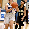 Geneva's Sidney Santos looks for a shot during their home game against Streamwood Wednesday night.(Sandy Bressner photo)