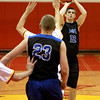 St. Charles North's Quinten Payne attempts a shot during their game at Batavia Thursday night.(Sandy Bressner photo)