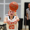 St. Charles East's Katie Claussner passes the ball during Thursday's game against visiting Geneva.<br /> (Jeff Krage photo for the Kane County Chronicle)