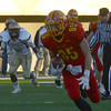 Erica Benson-ebenson@shawmedia.com<br /> Batavia's Jordan Zwart makes his way toward the end zone during their state game against Richards in DeKalb Saturday November 16 2013. Batavia defeated Richards 34/14 for 1st place.
