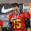 Erica Benson-ebenson@shawmedia.com<br /> Batavia's Micah Coffey reacts to their 1st place state championship during their game against Richards in DeKalb Saturday November 16 2013. Batavia defeated Richards 34/14 for 1st place.
