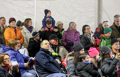 Jeff Krage – For Shaw Media A large crowd turned out to listen to the Barrington Children's Choir perform during Saturday's Christkindl Festival in downtown Barrington. Barrington 12/7/13