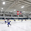 Fox Valley Hawks players practice at the Fox Valley Ice Arena in Geneva Monday afternoon.