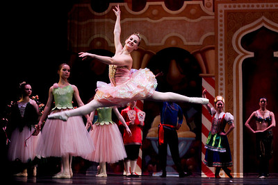 Sarah Nader- snader@shawmedia.com Madeline Jenkins performs as Columbine during dress rehearsal for The Nutcracker Ballet presented by Berkshire Ballet Theater at the Raue Center for the Arts in Crystal Lake Thursday, December 19, 2013. The ballet features a cast of over 150 dancers with performances on Saturday, December 21 at 3:00 p.m. and 7:00 p.m. along with a matinee performance on Sunday at 3:00 p.m.