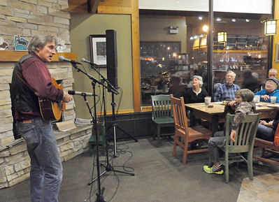 Mark Dvorak & Walt Meder play Caribou Coffee