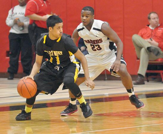 Joliet West at Bolingbrook boys basketball