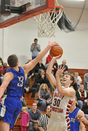 Riverside Brookfield at Timothy Christian boys basketball