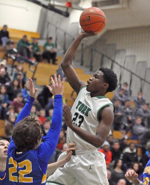 York hosts LT in basketball tourney