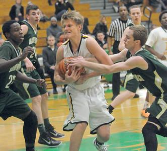 Hinsdale South vs St. Patrick in Jack Tosh basketball tourney
