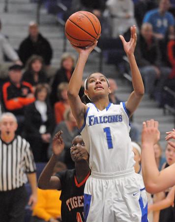 Wheaton South at Wheaton North girls basketball