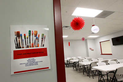 Candace H. Johnson-For Shaw Media The Party and Multi Purpose Room is available to use at the Volo Sportsplex in Volo.