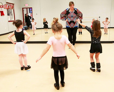 Candace H. Johnson-For Shaw Media Dance Instructor Lisa Stay, of Antioch teaches Pre-Ballet and Tap class at the Volo Sportsplex in Volo.