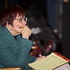 Marge Uhlarik-Boller directs Random Theft & Other Acts rehearsal on Dec.18 at the Steel Beam Theater in St. Charles.