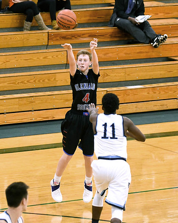 Glenbard South boys basketball took on Lake Park at the Glenbard West holiday tournament in Glen Ellyn.