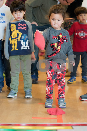 The Lemont Park District hosted a New Year's Eve Family Bash at The CORE. Celebrating the new year at noon, instead of midnight.