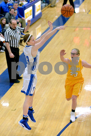 Wheaton North took on Jacobs in the 33rd Annual Bill Neibch Falcon Classic girls basketball tournament